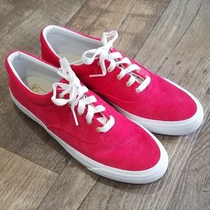 Keds Cherry Red Corduroy Keds